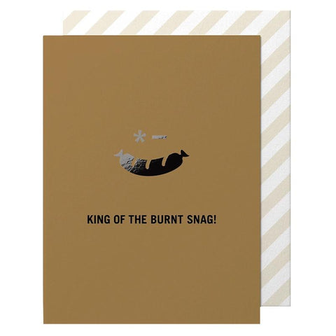 Made Paper Co Card - Burnt Snag - Tea Pea Home