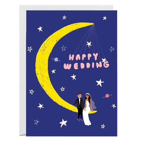 Carolyn Suzuki Card - Moonlight Wedding - Tea Pea Home