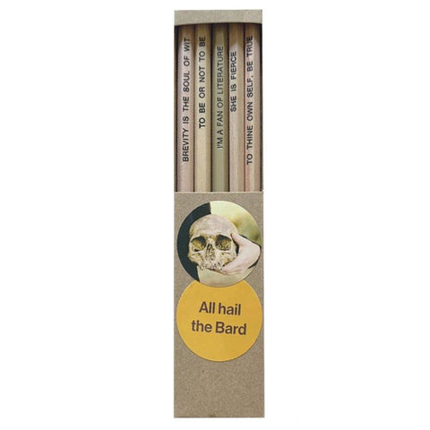 Emma Makes Pencil Pack - Shakespeare