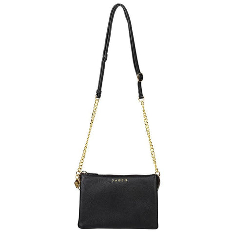 Saben Tilly's Big Sis - Black with Chain Strap - Tea Pea Home