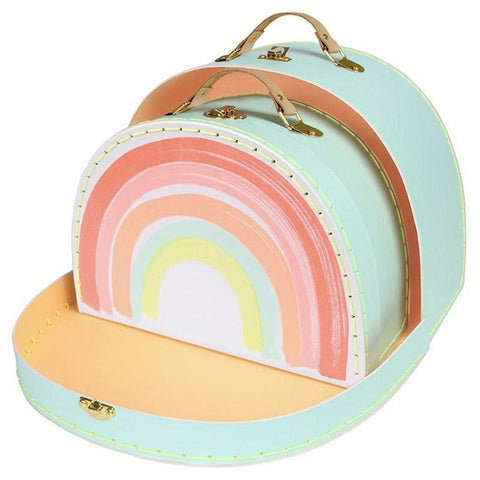 Meri Meri UK Suitcase - Rainbow - Tea Pea
