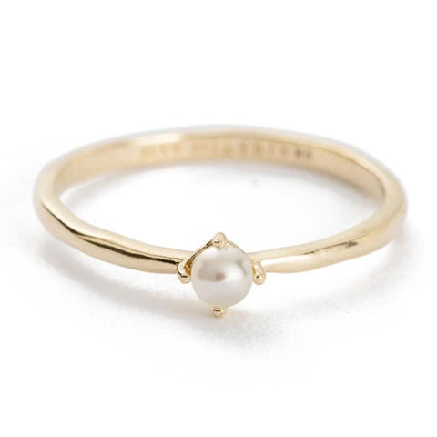 Kirstin Ash X Olive Cooke Solid - Moon Tide Pearl Ring - Tea Pea Home