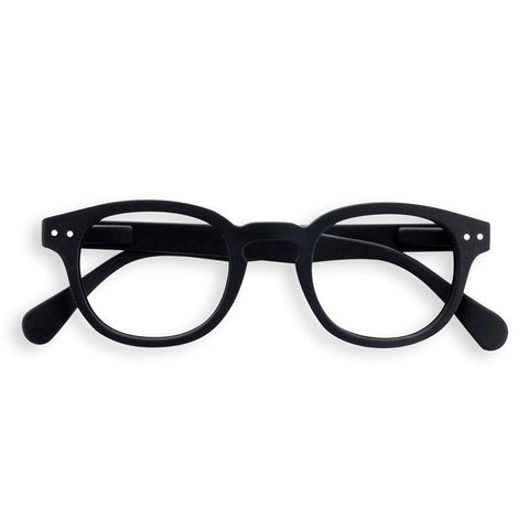 Izipizi France Reading Glasses - Black Collection C - Tea Pea