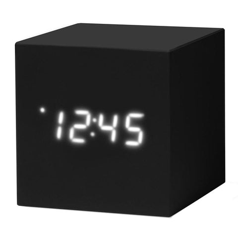 MoMa Cube Clock - Black - Tea Pea Home