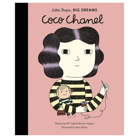 Little People, Big Dreams - Coco Chanel - Tea Pea Home