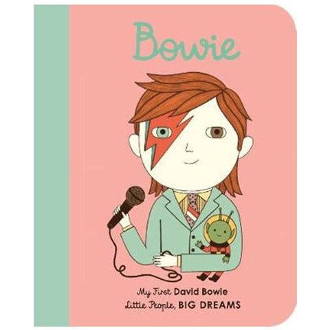My First Little People, Big Dreams - David Bowie - Tea Pea Home