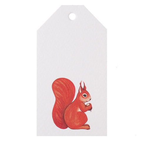 Tea Pea Home Gift Tag - Squirrel - Tea Pea Home
