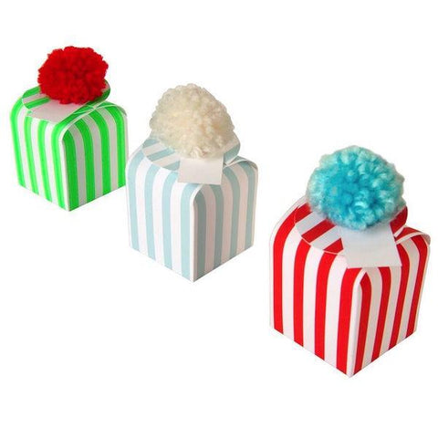 Meri Meri UK Pom Pom Mini Gift Boxes