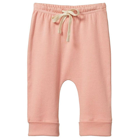 Nature Baby Organic Cotton Drawstring Pants - Lily - Tea Pea Home