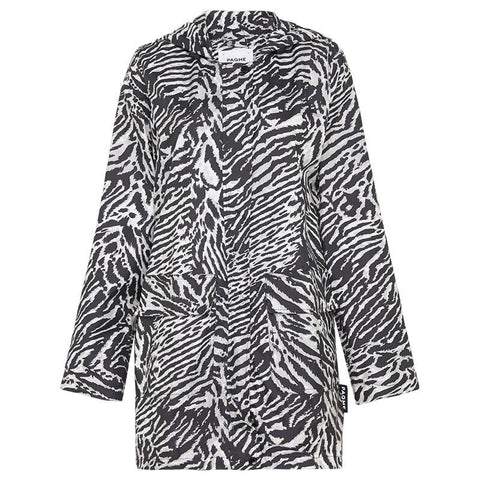 Paqme Women's 3/4 Jacket Raincoat - Tiger - Tea Pea Home