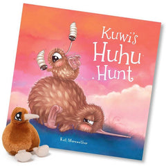 Kuwi's Huhu Hunt Book & Soft Toy