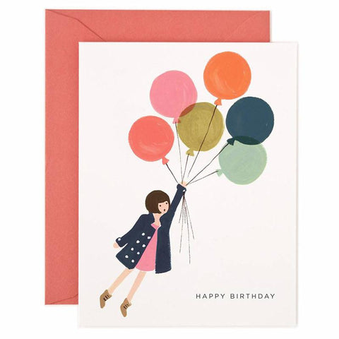 Rifle Paper US Card - Fly Away Birthday