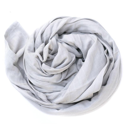 Burrow & Be Essentials Muslin Wrap - Grey