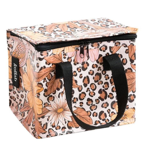 Kollab Poly Lunch Box - Leopard Floral - Tea Pea Home