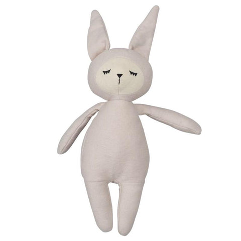Fabelab Denmark Organic Cotton Buddy Bunny - Mauve - Tea Pea Home
