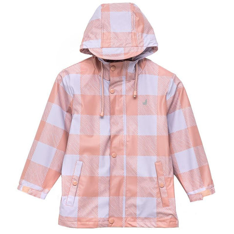Crywolf Play Jacket - Lilac Plaid - Tea Pea Home