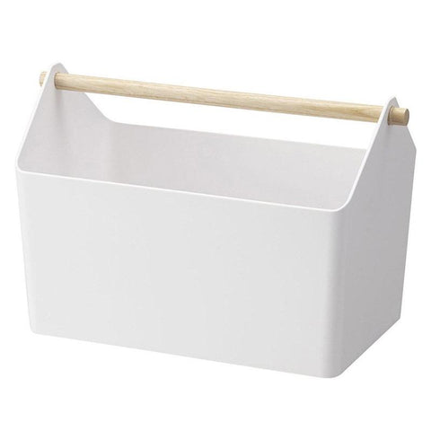Yamazaki Japan Tosca Storage Box - White - Tea Pea