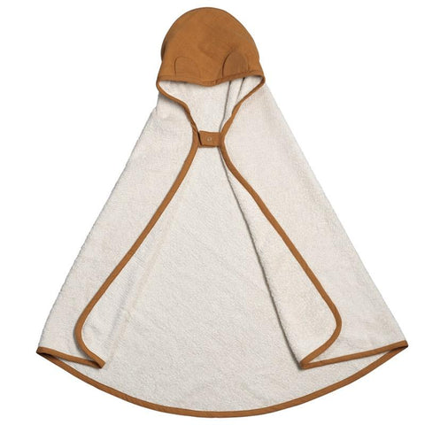 Fabelab Denmark Hooded Towel - Ochre - Tea Pea Home