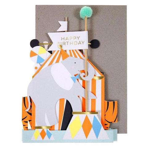 Meri Meri UK Card - Circus - Tea Pea Home