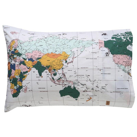 Kip & Co Pillowslip - Flight Path