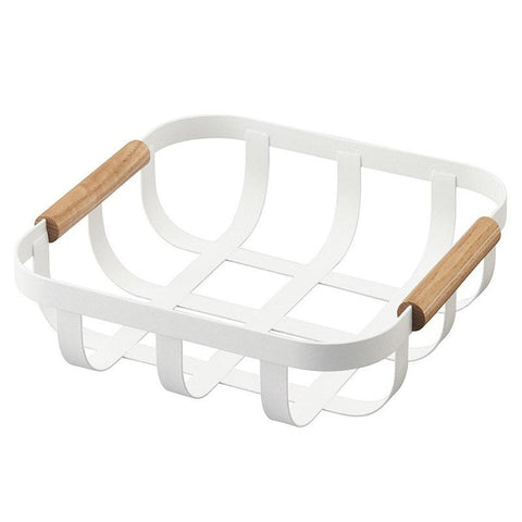 Yamazaki Japan Tosca Kitchen Basket - Tea Pea