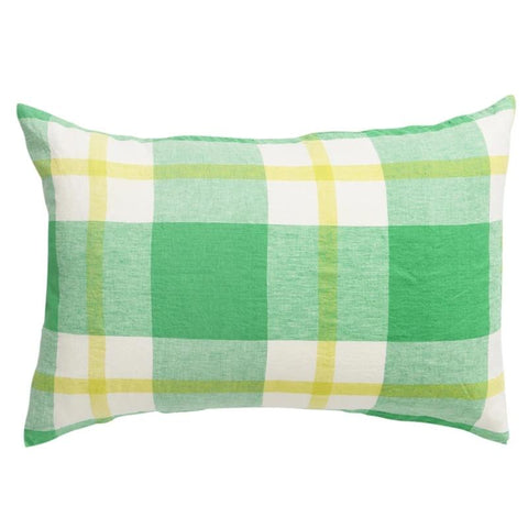 Society of Wanderers Pillowslip Set - Zest Check - Tea Pea Home