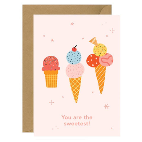 Made by Mimi Card - You are the Sweetest - Tea Pea Home