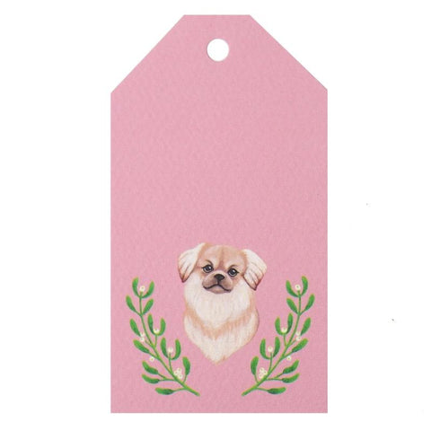 Tea Pea Home Gift Tag - Christmas Wolfie - Tea Pea Home