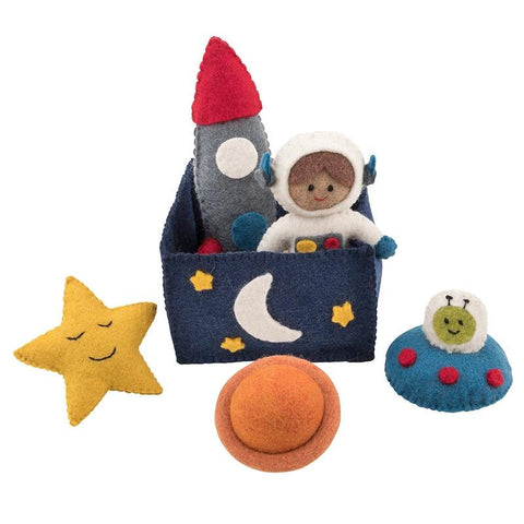 Pashom Nepal Felt Playset - Outer Space