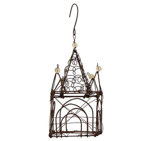 Hanging Wire Palace Christmas Decoration - Tea Pea Home