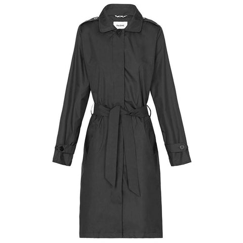 Paqme Women's Everywhere Trench Raincoat - Black