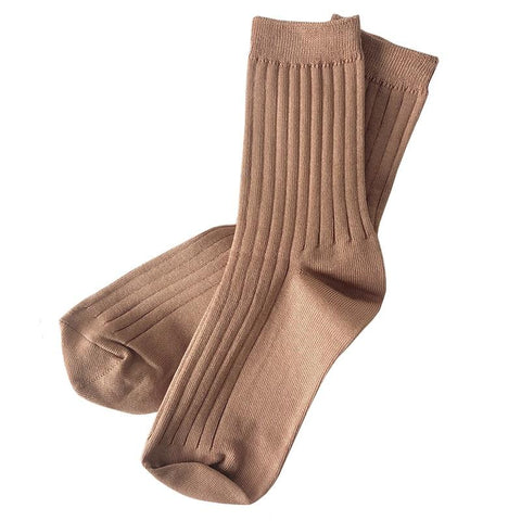 Le Bon Shoppe LA Her Socks - Peanut Butter - Tea Pea Home