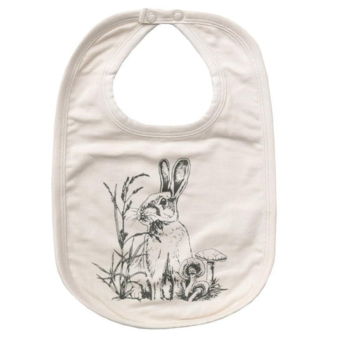 Burrow & Be Essentials Bib - Baxter Almond
