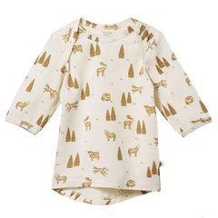 Nature Baby Organic Merino Essentials Tee - Wilderness