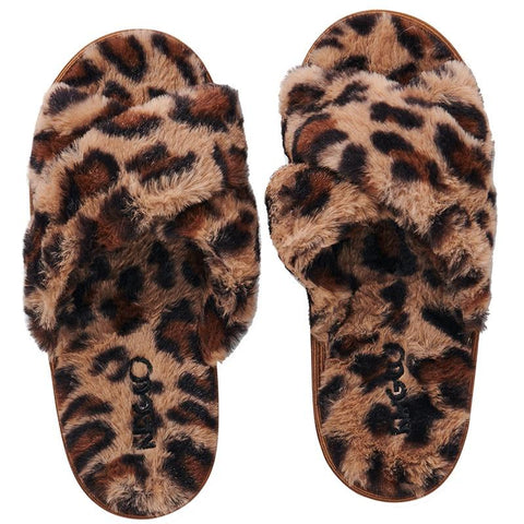 Kip & Co Adult Slippers - Cheetah - Tea Pea Home
