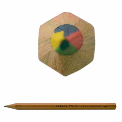Wooden Rainbow Pencil - Tea Pea Home