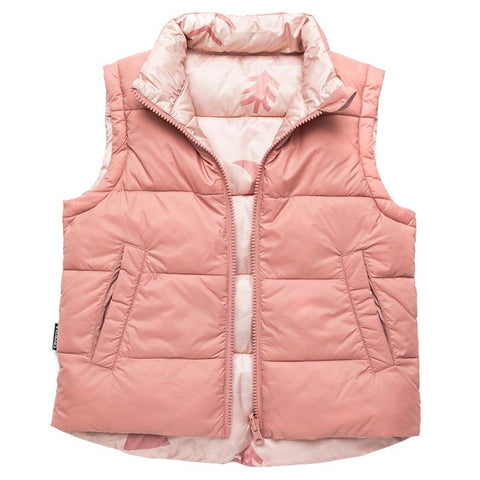 Crywolf Reversible Vest - Campfire Rose - Tea Pea Home