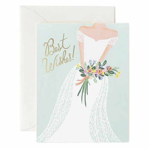 Rifle Paper US Card - Beautiful Bride - Tea Pea Home