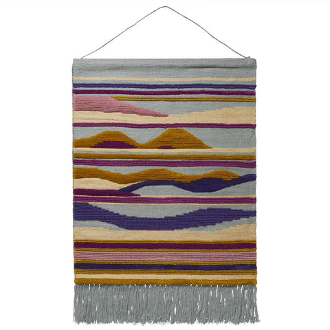 Sage x Clare Woven Wall Hanging - Salome Art Prints Sage x Clare