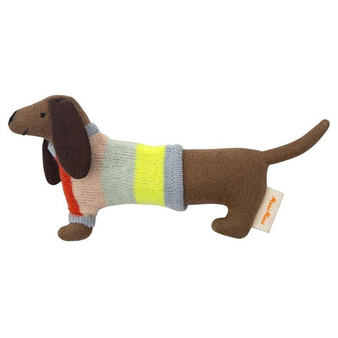 Meri Meri UK Rattle - Sausage Dog - Tea Pea Home