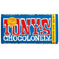 Tony's Chocolonely 180g Dark Chocolate Bar - Tea Pea Home