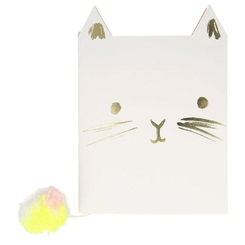 Meri Meri UK Notebook - Cat - Tea Pea Home