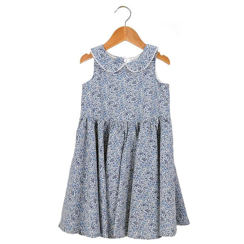 Pretty Wild Maria Dress - Blueberry - Tea Pea Home