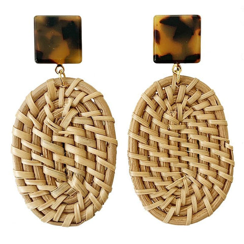 Weave Earrings - Tea Pea Home