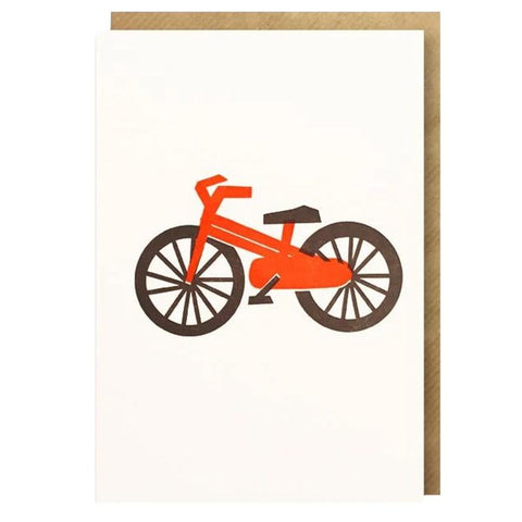 Bits and Bobs Card - Bicycle - Tea Pea Home