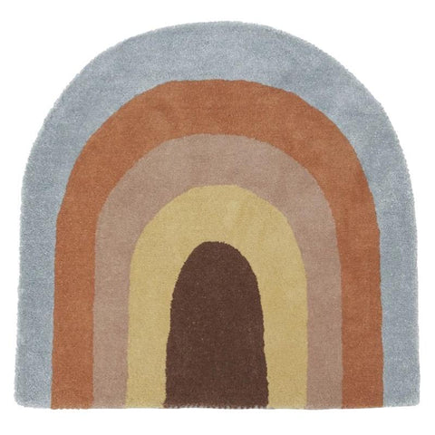 Oyoy Denmark Rug - Multicoloured Rainbow - Tea Pea Home