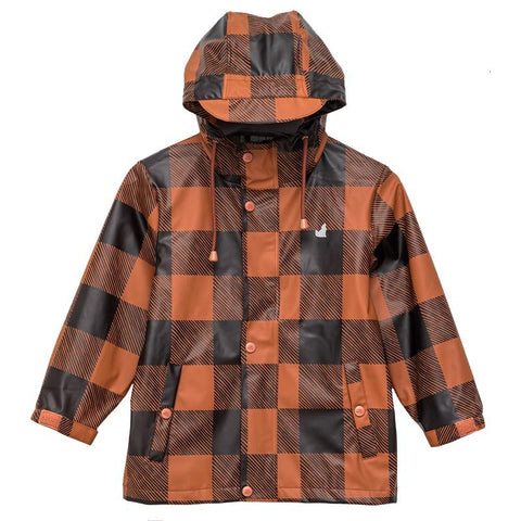 Crywolf Play Jacket - Rust Plaid - Tea Pea Home