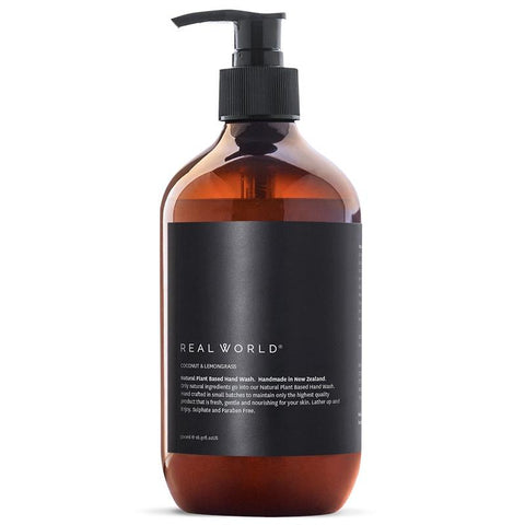Real World NZ Hand Wash - Coconut & Lemongrass - Tea Pea Home