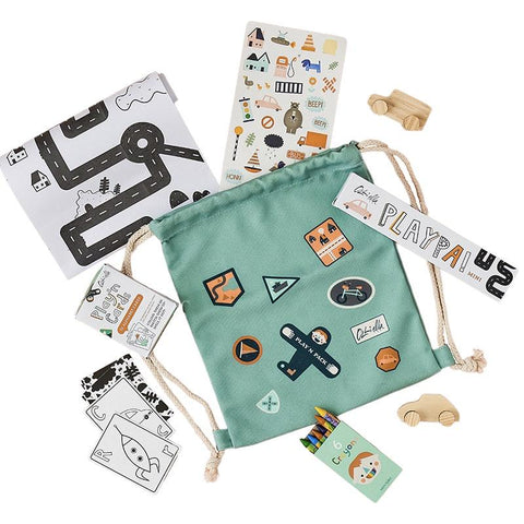 Olli Ella Play'n Pack - City - Tea Pea