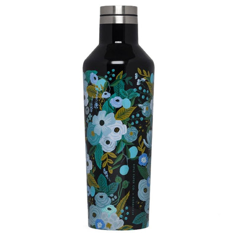 Corkickle X Rifle Paper Canteen Drink Bottle -  Garden Party - Tea Pea Home